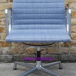 Vitra Eames EA108 Ice Blue Hopsak Aluminium Group Chair 2