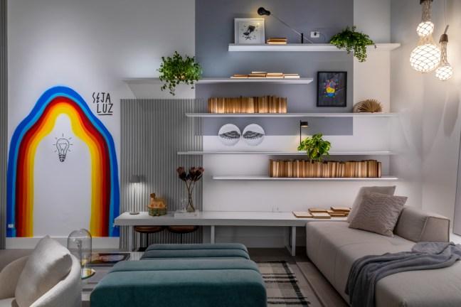 decoração; casacor; estantes; prateleiras