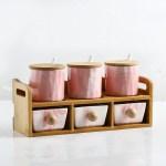 6 Grid Pink set