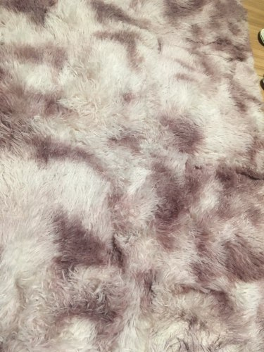 Grey Plush Rug photo review
