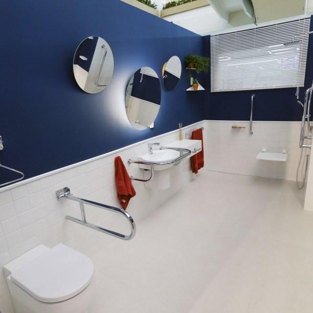 Mostra Lar Center de Arquitetura e Design Universal – Ambiente Banheiro social – Profissional Carolina Danielian
