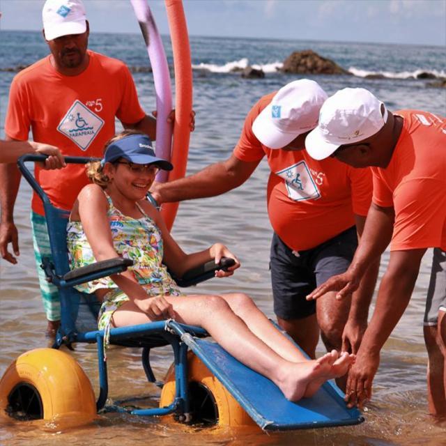 Projeto já atendeu 1.500 banhistas em cinco anos de atividades - Foto: Divulgação
