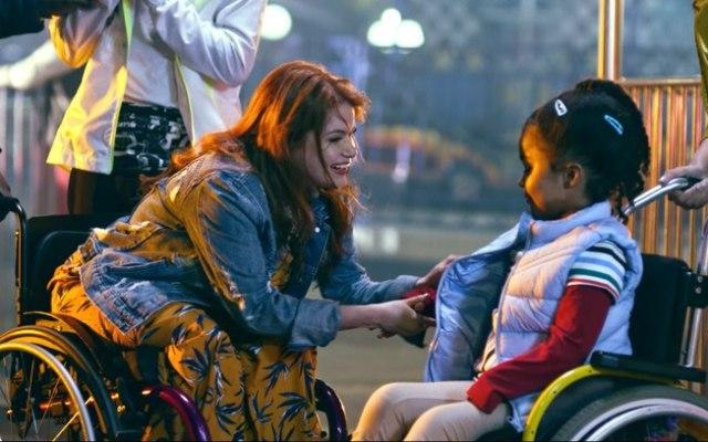 Segundo Maria Paula, é importante falar sobre representatividade e mostrar que pessoas com deficiência são normais