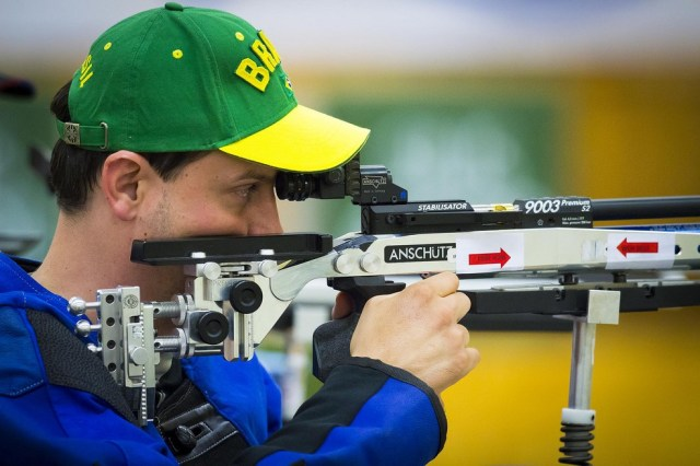 Alexandre Galgani, paratleta do tiro esportivo — Foto: Graziella Batista/CPB/MPIX
