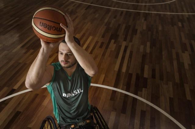 No basquete em cadeira de rodas, os três melhores no masculino terão vaga direta na Paralimpíada de Tóquio — Foto: Gui Christ / CPB