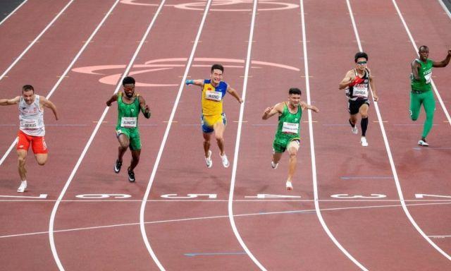 Petrúcio Ferreira medalha de ouro Washington Júnior bronze 100 m T47