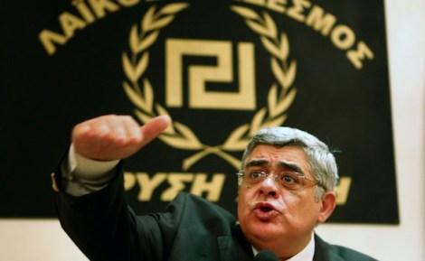 Líder da Aurora Dourada, Nikolaos Mihaloliakos