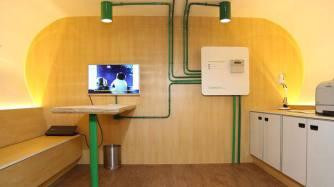 Interior Solartruck. Imagem: Exame/reprodução