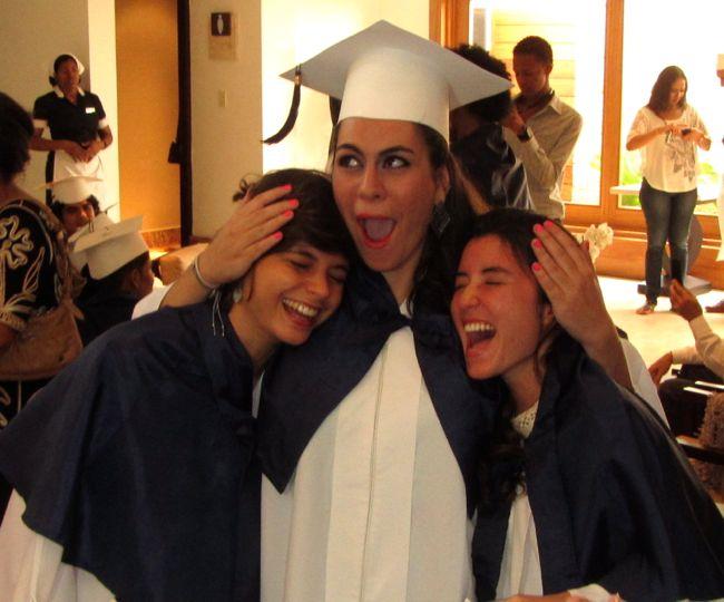 compañeras alanna graduacion