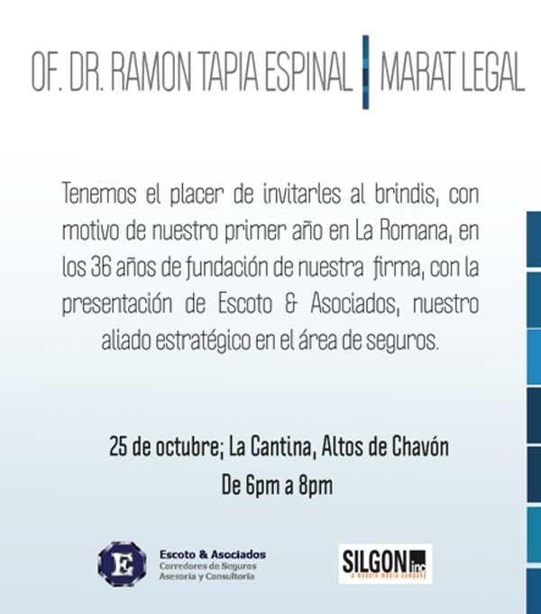 MARAT legal invite