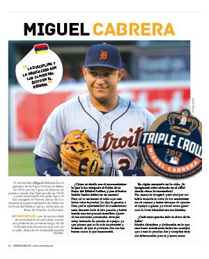 Interview with Miguel Cabrera INMORTALES latino baseball magazine
