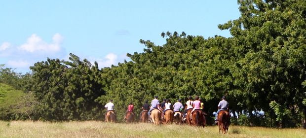 Casa de Campo villa owners duenos horse back riding