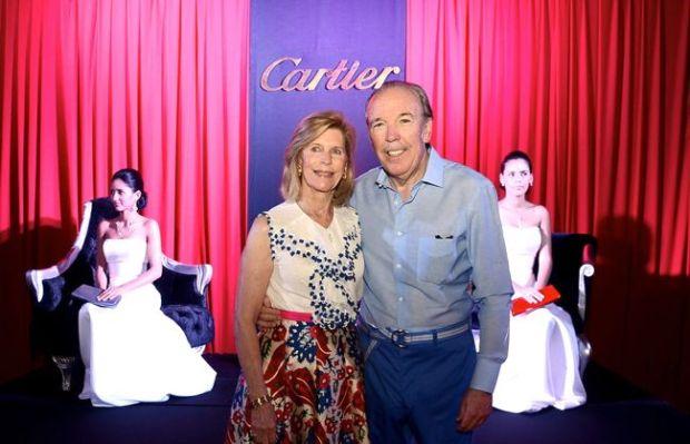 Emilia Fanjul and J.Pepe Fanjul Cartier Benefit Casa de Campo