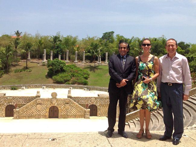 visita de embajador de Qatar