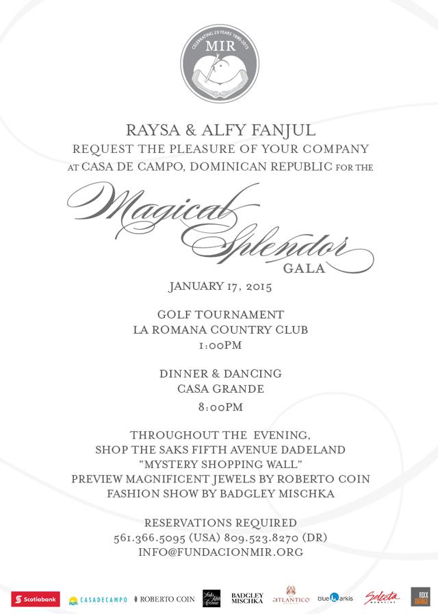 Fundacion MIR, Magical Splendor Gala
