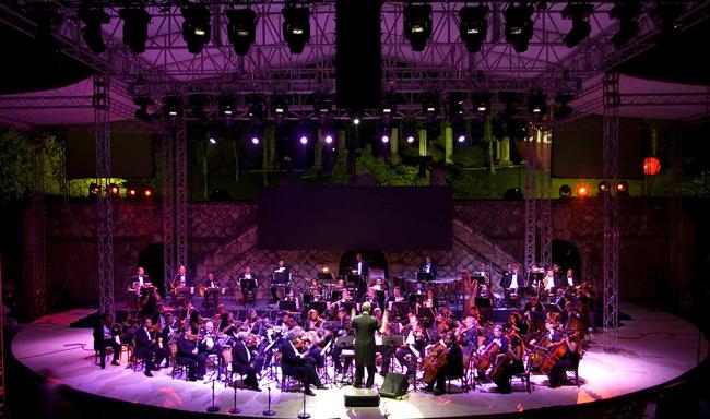 Andrea Bocelli, Altos de Chavon amphitheater