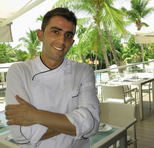 Anthony Masas Executive chef Casa de Campo