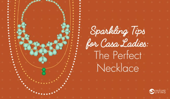 Sparkling Tips - The Perfect Necklace