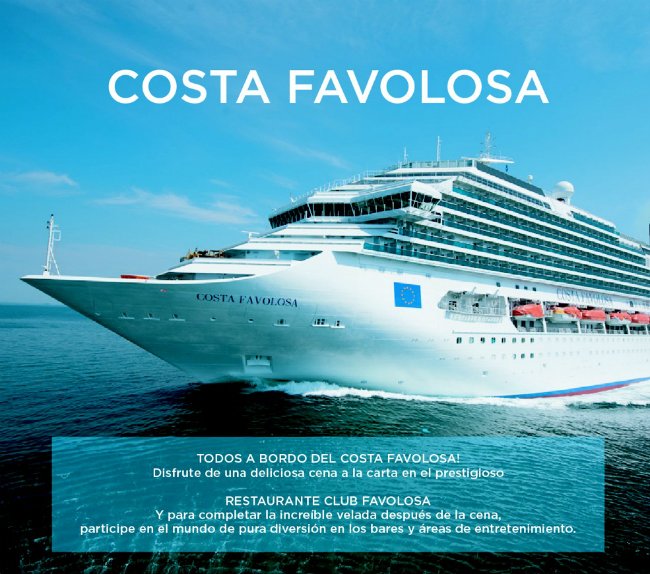 Costa Favolosa Flyer