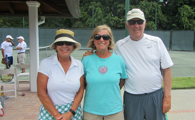Group - McDaniels Tennis Tournament 2016