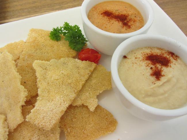 Hummus and Cassava