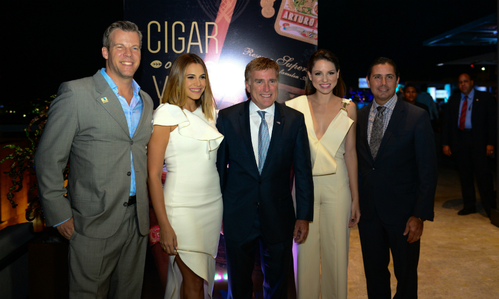James Brewster at Cigar Country Benefit