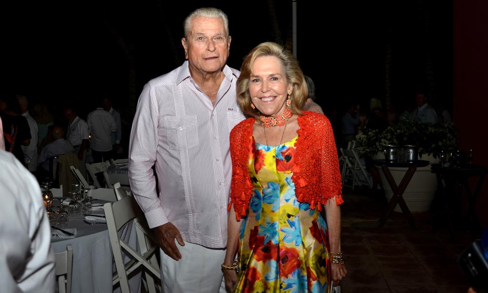 Lian Fanjul de Azqueta and Norberto Azqueta Fundacion MIR