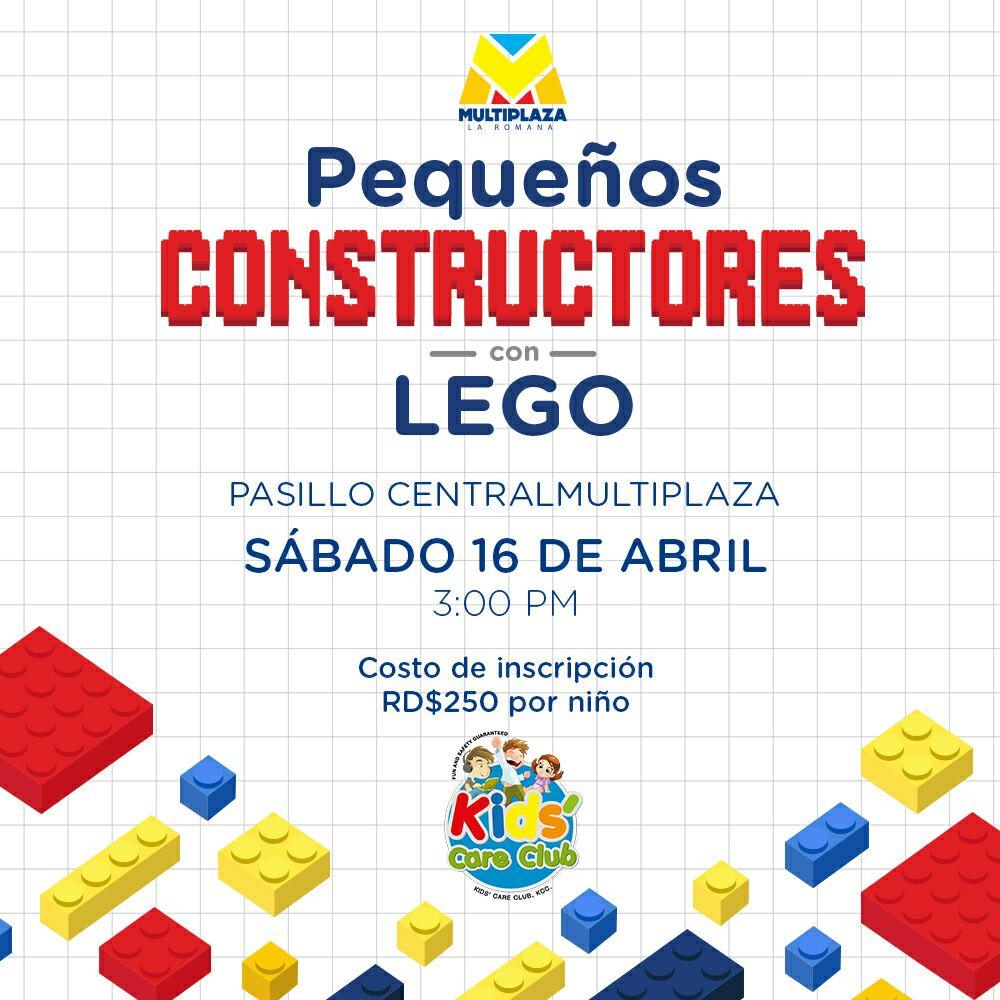 Lego Workshop at Multiplaza La Romana