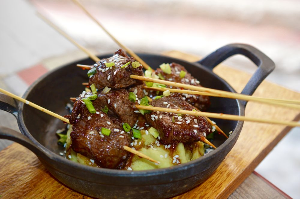 Cantonese Filet Skewers