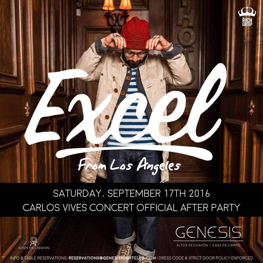 DJ Excel Carlos Vives Afterparty