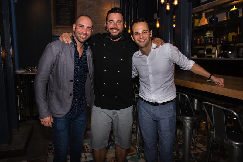 Dayan Gonzales, Chef Jose Mendin, Charles Keusters