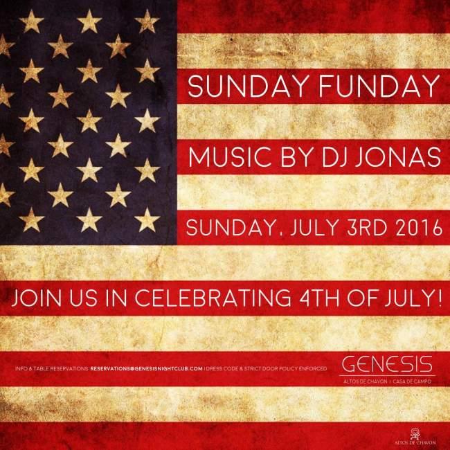 Sunday Funday Genesis Night Club July 3 2016