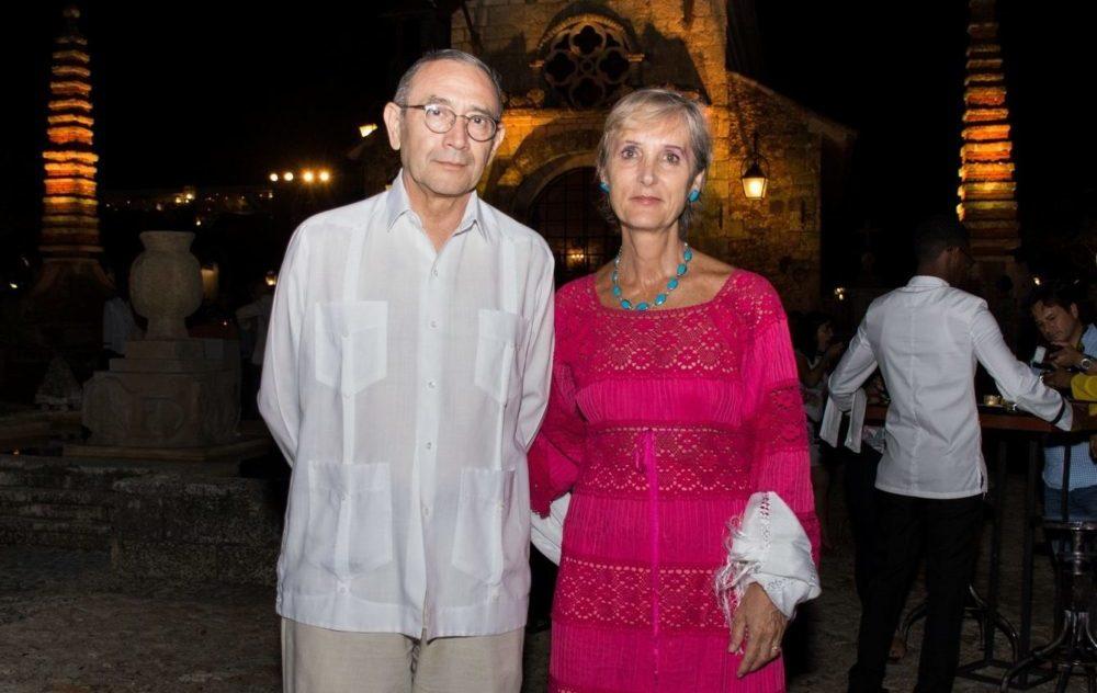 Ambassador Carlos Tirado and Maite Fernández