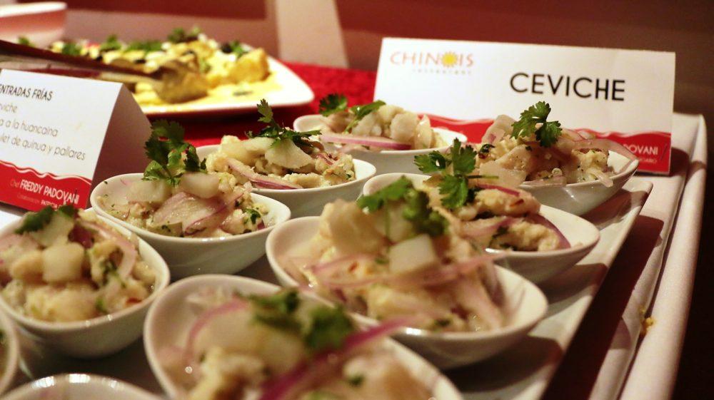 Chinois Peruvian dinner