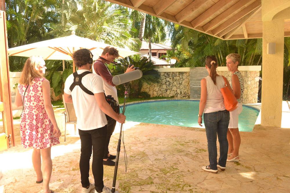 Inge Demyttenaere - Belgium TV crew