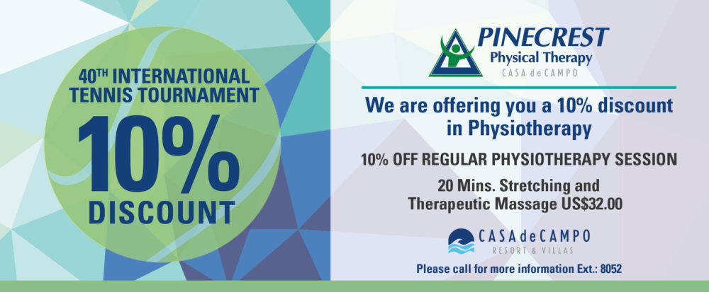 Pinecrest Physical Therapy discount