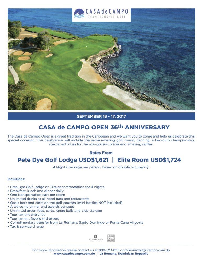 36th Casa de Campo Open