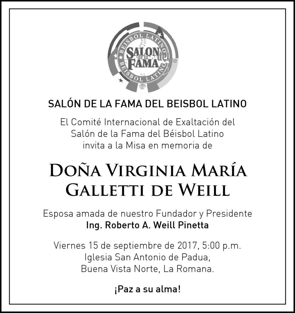 Virgina María Galletti de Weil
