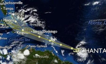 tropical storm chantal