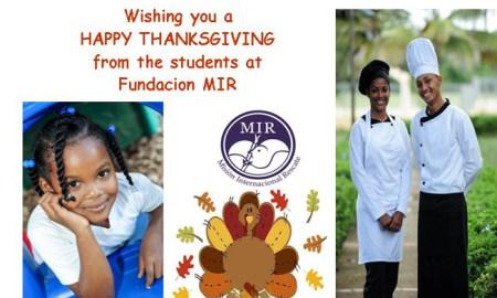 Thanksgiving Fundacion MIR