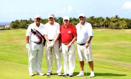 Rafael Santana, Khalil Hache, Ramon Menendez y Juan Jose Arteaga