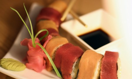 Tuna & Salmon Philly Roll