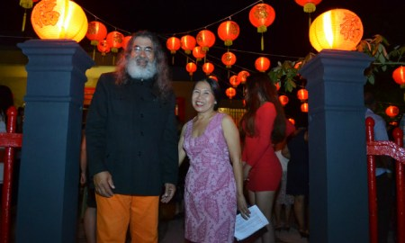 Eduardo Bello and Susana Joa - Chinois Re-Opening