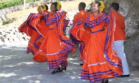 Traditional dance Dominican Republic