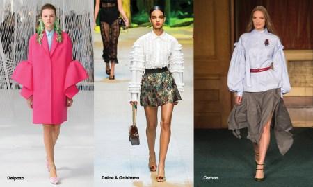 Summer 2017 Fashion Trend: Sleeves