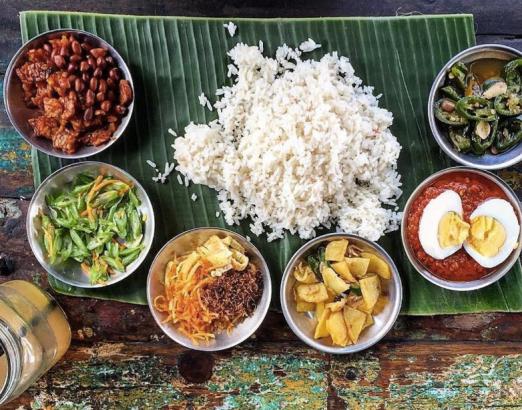 best indian restaurant canggu - the piring duan