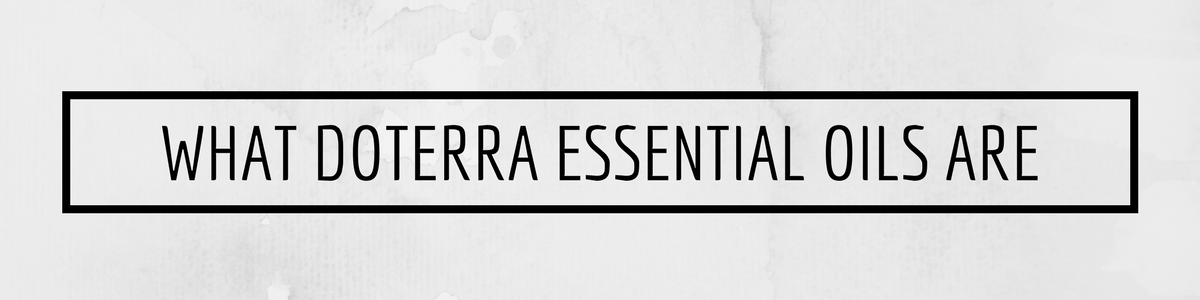 what doterra essential oils are