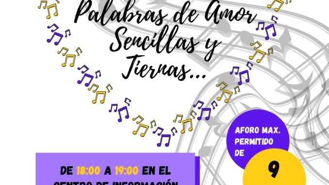 """""""Palabras de amor, sencillas y tiernas centro de información juvenil del ayuntamiento de san andres y sauces"""