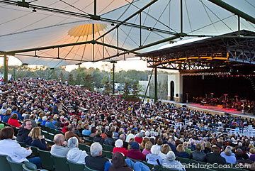 Major Events and Concerts presented at St. Augustine Amphitheater