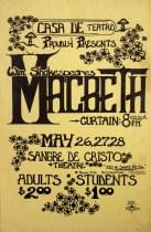 Macbeth - The Poster